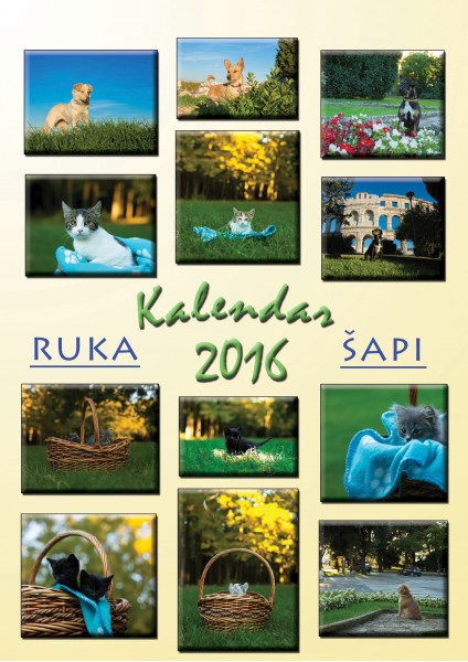 RUKA ŠAPI KALENDAR 2016